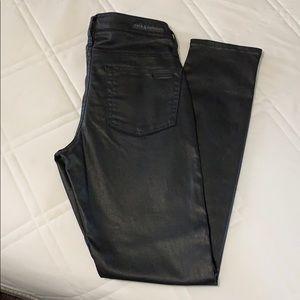 NWOT Rock & Republic Black Faux Leather Pants